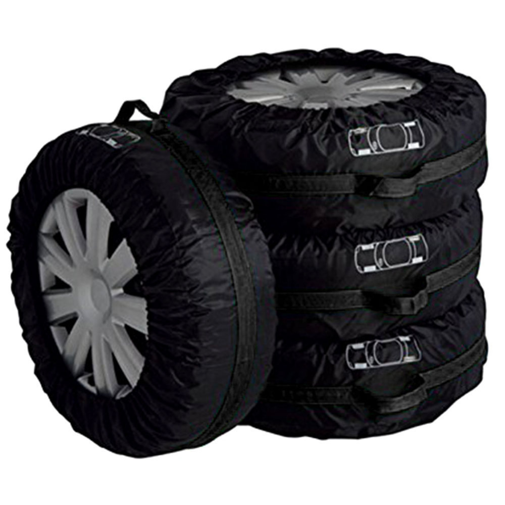 4pcs Spare Tire Cover Car Auto Spare Tire Wheel Carry Tote Protection Winter and Summer Cover