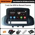 Обновлен Оригинальный Автомобиль мультимедийный Плеер Автомобиля Gps-навигация Костюм для Renault Fluence Поддержка Wi-Fi Смартфон Зеркало-link Bluetooth