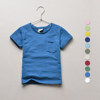 2018 baby boys clothes t-shirts full size 3-14y Brand summer children tshirt girls clothing cotton casual o-neck kids top tees