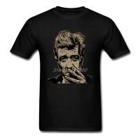 David Lynch T Shirt Short Sleeve Custom Men S T Shirt Summer Cosplay Cotton Crewneck Big