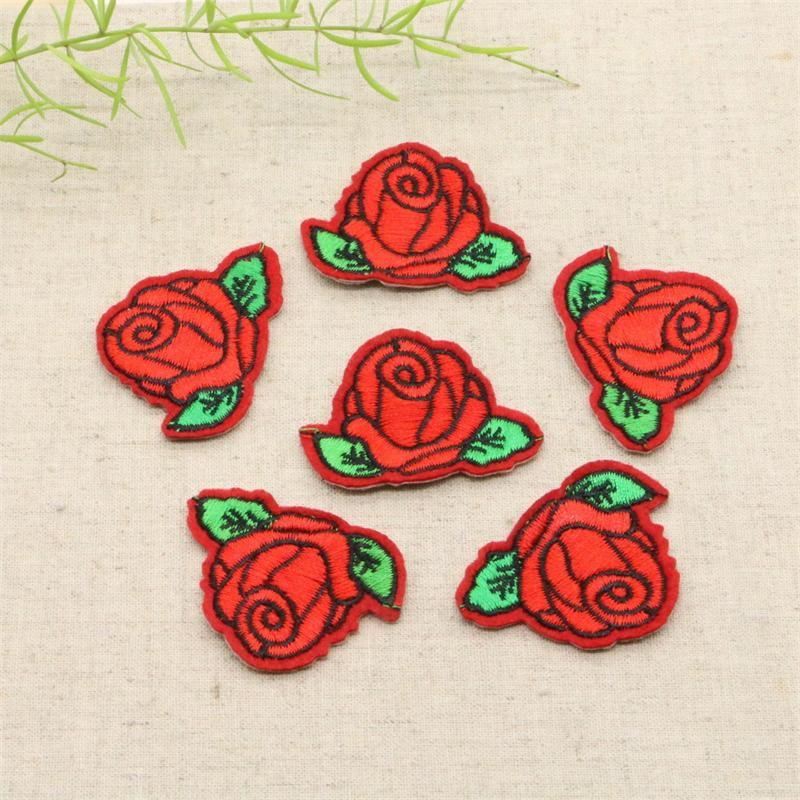 Aliexpress buy pcs cute colorful rose applique