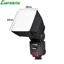 Speedlite SoftBox 10x10cm Universal Camera Flash Speedlite Softbox Folding Diffuser For Canon Nikon Yongnuo,ETC DSLR Camera