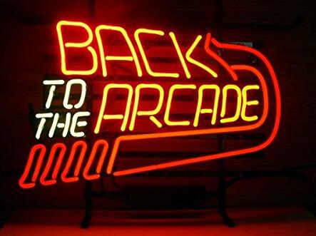 Back To The Arcade Neon Light Sign