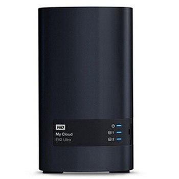 Western Digital My Cloud EX2 Ultra 4 ТБ Облачное хранилище, сетевой жесткий диск NAS, сетевое хранилище Cloud WDBVBZ0120JCH, сервер хранения