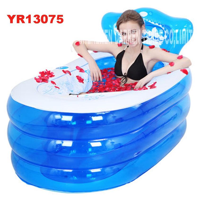 Online Shop YG001 Adult Spa PVC Folding Portable plastic bathtub ...