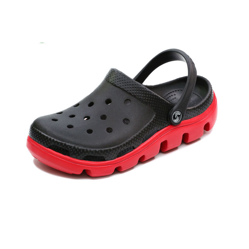 2018 Summer Beach sandals Family Outdoor women slippers fashion Thick bottom Non-slip Anti bacteria hole shoes Women sandals summer fashion sandals women shoes non slip hook