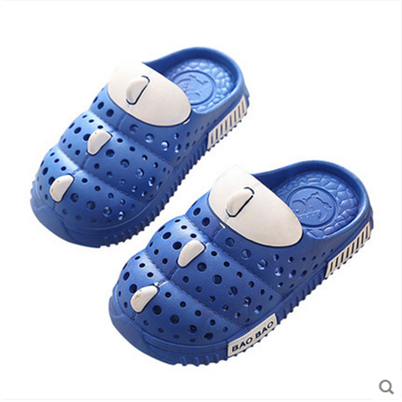 Children garden shoes Kid Toddlers Sandals Boys Soft Baby Flat Sandals Girls Beach Sandals