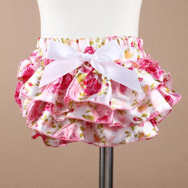Baby Ruffle Shorts Floral