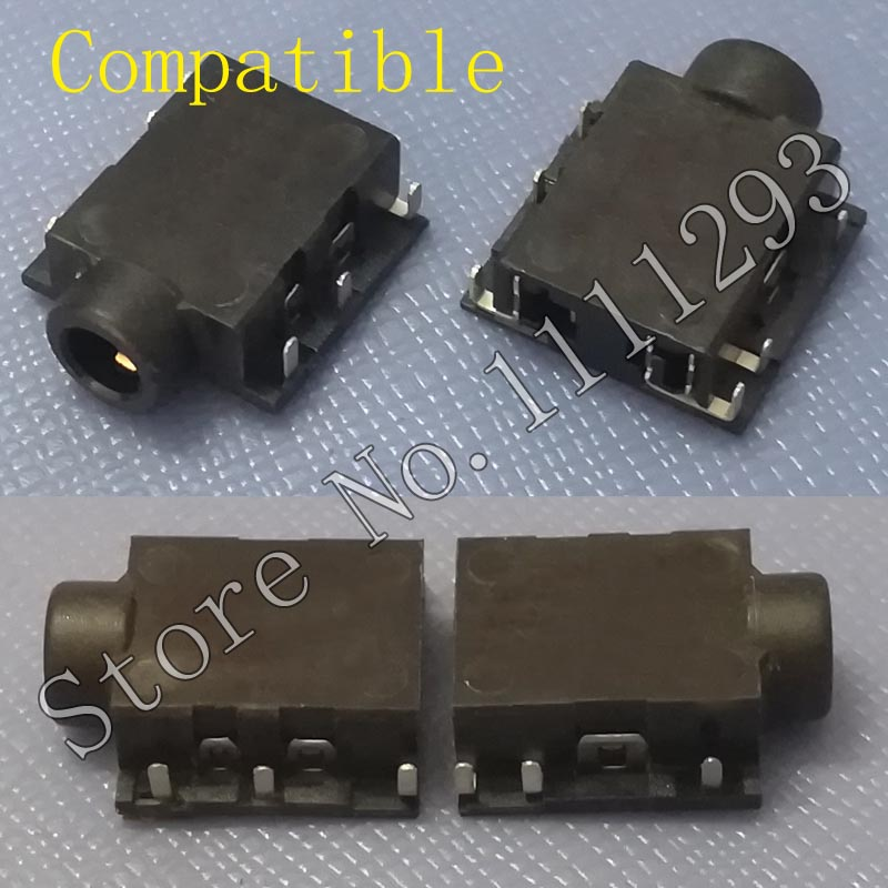 10pcs/lot Headphone MIC Audio Jack Socket Connector for Acer Aspire E1-432G E1-470 E1-470G E1-472 E1-430P V5-531P Phone Port