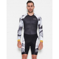 New Jaggad High Quality Cycling Skinsuit 2019 Men's Triathlon Mtb Bike Sport Clothes Maillot Ciclismo Jumpsuits Road Bike Suits