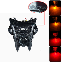 With E mark For BMW S1000RR S1000R HP4 2010 2011 2012 2013 2014 2015 Led Rear Tail Light Integrated Turn Signals 100% Brand New