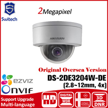 DS-2DE3204W-DE Hikvision PTZ Camera 1080P POE 2MP Network Mini PTZ Dome Camera Outdoor Speed Dome Camera IP67 IK10 Plug/Play