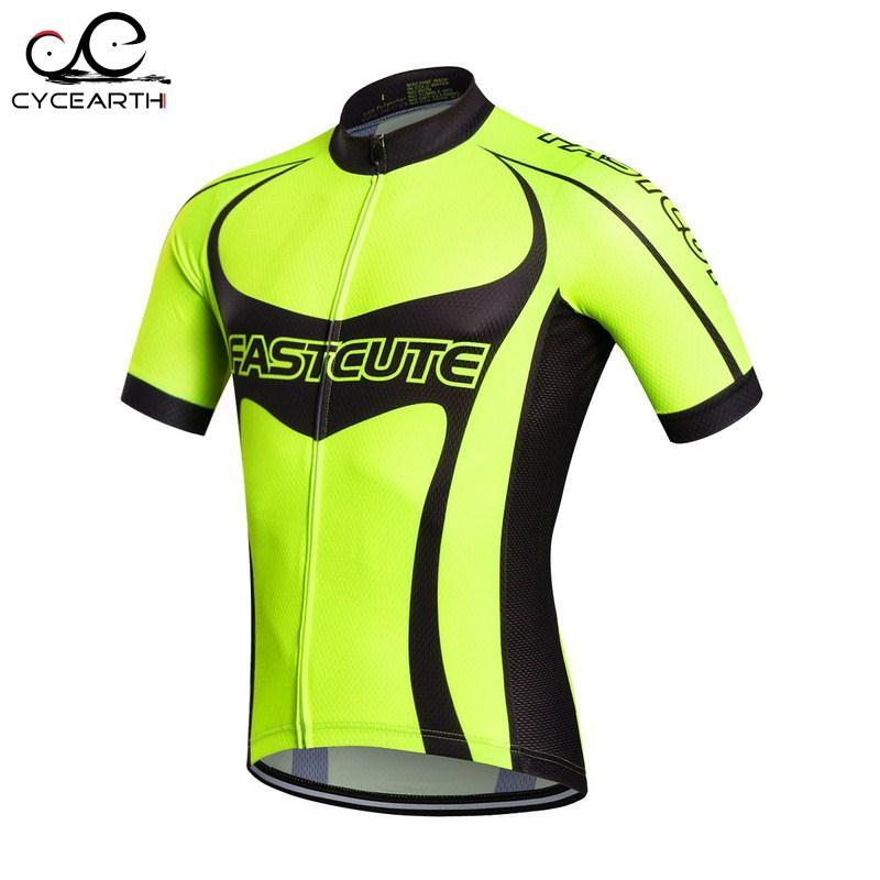 Prix pour FASTCUTE vélo jersey 2016 à manches courtes t-shirt d'été respirant vélo vêtements clothing seulement jersey Ropa Ciclismo # F588