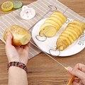 Спиральный резак для картофеля, 1 комплект, слайсер для огурцов, кухонные аксессуары, спиральный резак для овощей, слайсер для картофеля, кух...