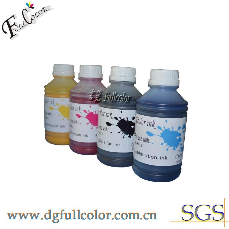 ФОТО Free shipping sublimation ink for Wp4000 wp4020 wp4030 wp4040 wp4500 wp4095 wp4595 printer hot transfer ink