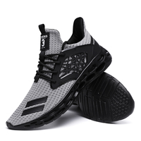 Shoes Men Knit Casual Walking Sneakers Fashion wild men's sports shoes lightweight breathable running shoes Outdoor Sport Shoes