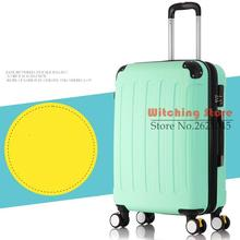22 INCH 2022242628# expansion of universal wheel luggage box men and women code boarding bags special offer FREE SHIPPING