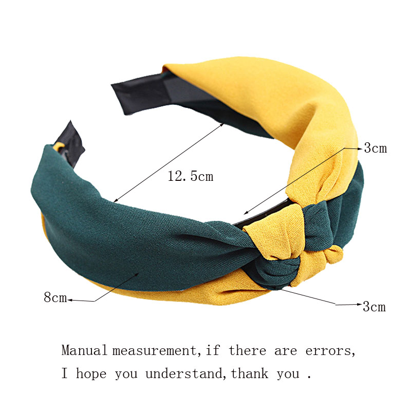 Fashion new Hairbands For Women Girls Head Bands Two colors Female Hair Accessories Knitting Knotted Hair Bezel Lady Hair Hoop in Women 39 s Hair Accessories from Apparel Accessories