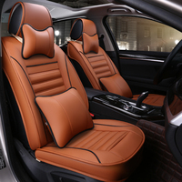 Customized Cushion Health And Activated Carbon Leather Car Cushion Four Seasons Sharing Car Seat Cover