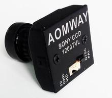AOMWAY 1200TVL 960P HD 2.8mm Lens CCD Mini FPV Camera for for QAV250 QAV210 Quadcopter