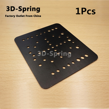 1Pcs Openbuilds Open Rail Gantry Plate 60mm Aluminum CNC Sandblasting oxidation 120*140*3 120x140x3 mm For 3D printer