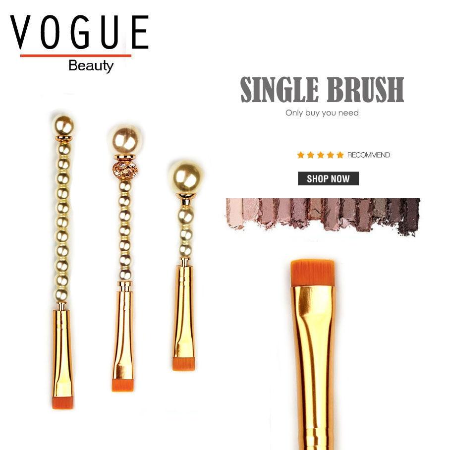 FLAT LOWER EYELID DEFINER BRUSH precise eye eyeliner eye shadow makeup brushes pigment highlight make up brush smoky brush tools