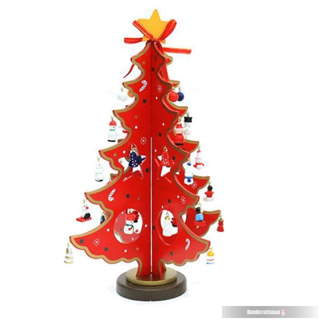 2015 Real New Arrival Artesanato Home Decor Christmas Madera Tree