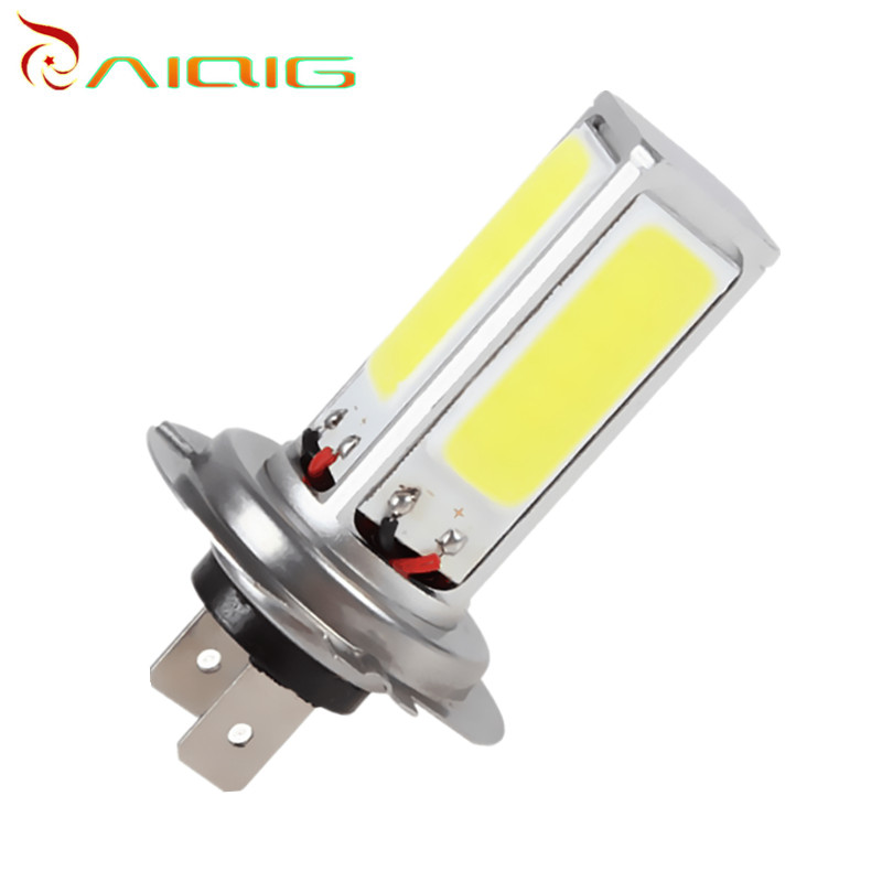 10pcs COB 48 Chips parking H7 led car White Fog Driving DRL Width Head Lights car led bulbs Lamp Car Light Source parking 12V car cob led h7 bulb fog light parking lamp bulbs driving foglight 7 5w drl 2pcs amber yellow white red ice blue