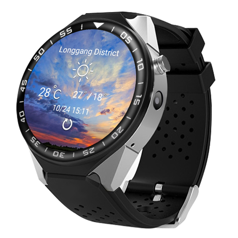 Smart Watch Phone S99C Android 5.1 MTK6580 1.3G Quad-cores 2G RAM+16G ROM Memory SIM Card Wifi Bluetooth GPS Smartwatch PK LEM5 summer alluring spaghetti strap sleeveless spliced solid color dress for women