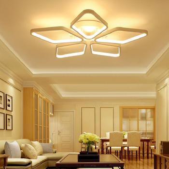 Современные потолочные светильники дизайн luces del techo luminarias гостиная спальня столовая лампа домашняя Светодиодная потолочная осветительная ...