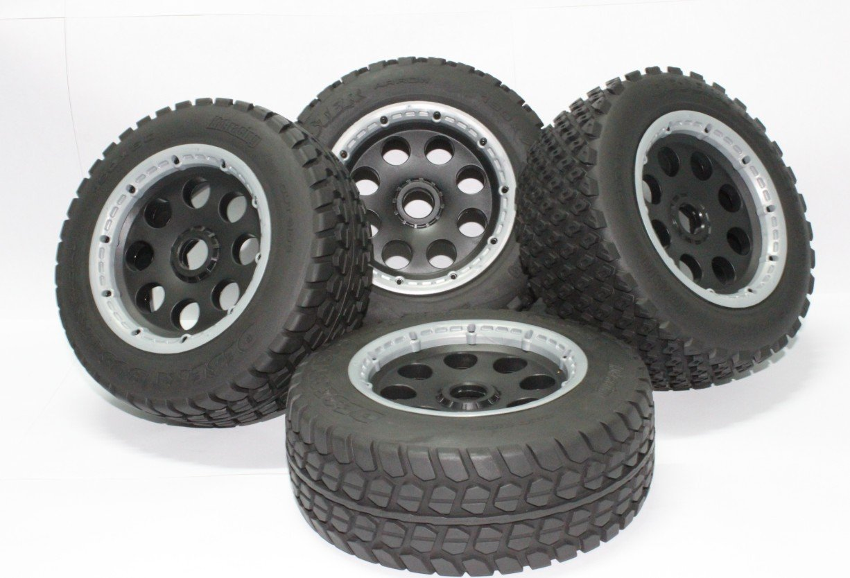 цены baja 5t tyre wheels for for HPI KM Rovan rc car free shipping