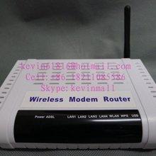 HG110 беспроводной модем маршрутизатор, 4 порта ADSL модем маршрутизатор внешняя антенна с английской прошивкой и руководство на английском языке