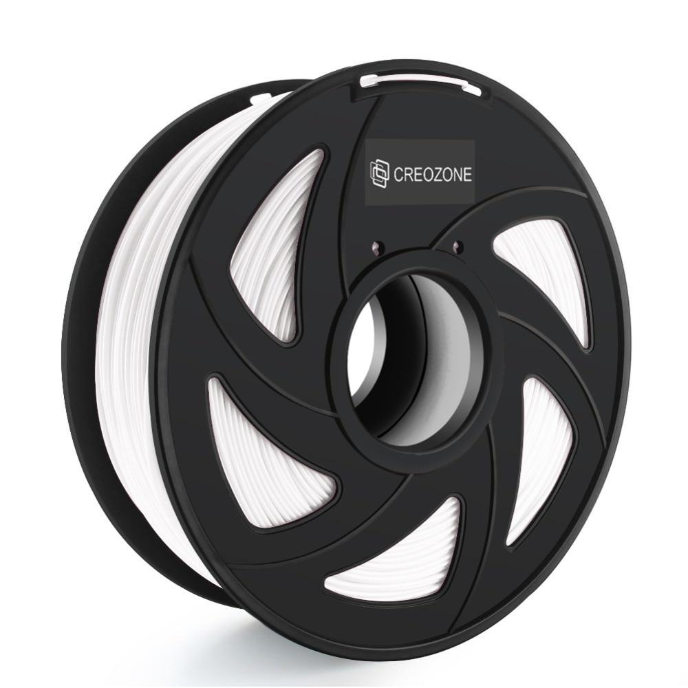 CREOZONE PLA Filament 1 75mm 1KG PLA Plus Plastic for 3D Printer Dimensional Accuracy of