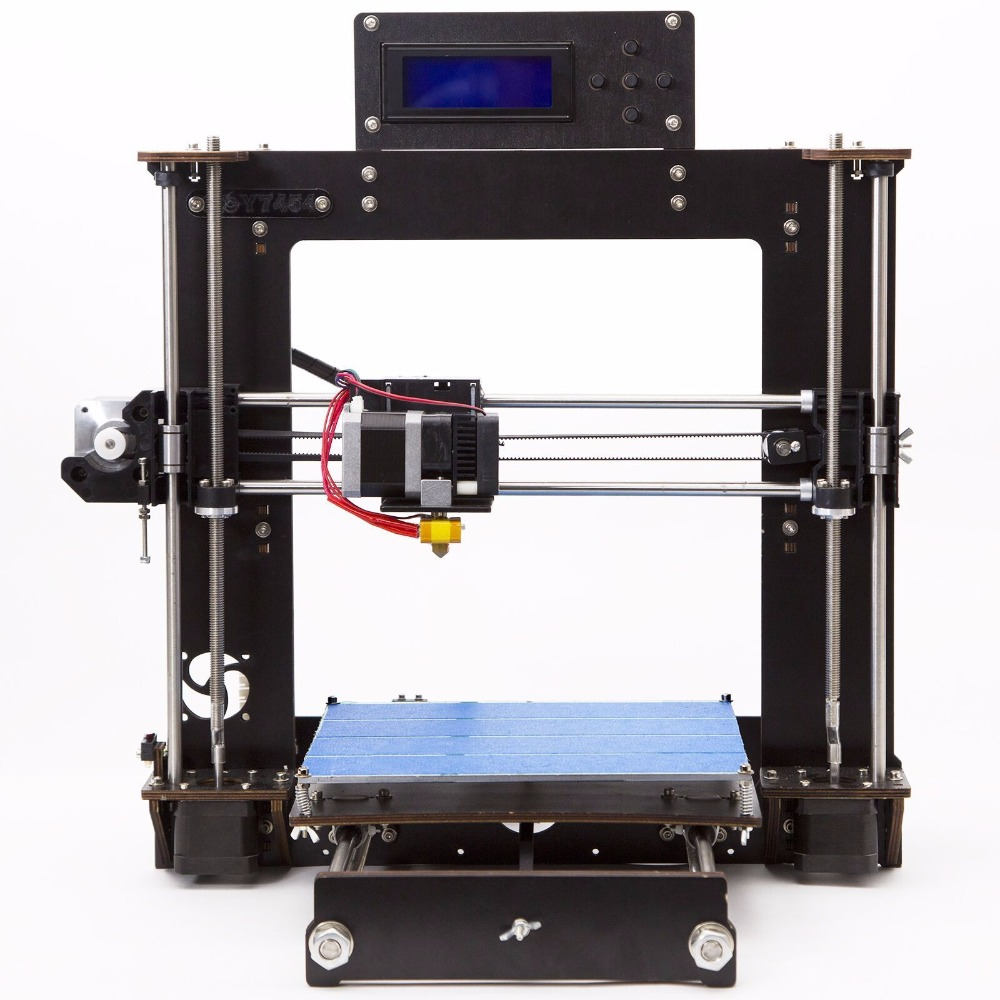 цена на Impresora 3d Reprap i3 Self Assembly MK8 Extruder MK3 Heat Bed 3D Printer Kit
