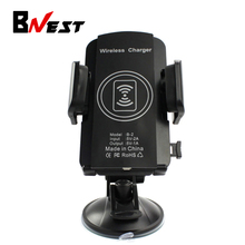 Bnest Car Phone Wireless Charge Qi Wireless Car Charger Stand Holder For Samsung Galaxy S6/S6 Edge S7 Plus Note 5 Nexus 4 5 6 LG