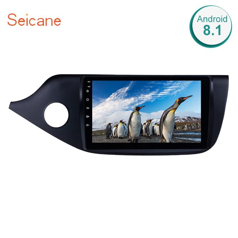 Seicane 9 Android 8,1 2din автомобиля gps радио плеер для 2012 2013 2014 Kia Ceed LHD с 4 ядра Bluetooth Wi Fi стерео Мультимедиа