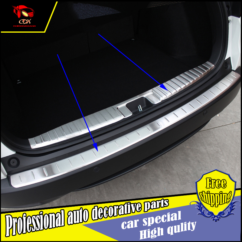 Stainless Steel Rear Bumper Sill Trunk Pedal For Honda HRV Vezel 2015- Tread Plate car-styling Rear protective pedal Rear guard литой диск yst x 4 7x17 5x114 3 d67 1 et35 bkf