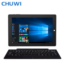 CHUWI Officiel! 10.1 Pouce CHUWI Hi10 Tablet PC Intel Cerise Sentier Z8350 Quad Core Windows 10 Android 5.1 4 GB 64 GB 6500 mAh