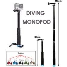 Go pro ручные селфи палки монопод для GoPro HERO 5 4 3 session sjcam sj4000 sj5000x sj9000 xiaomi yi 4k аксессуары для камеры