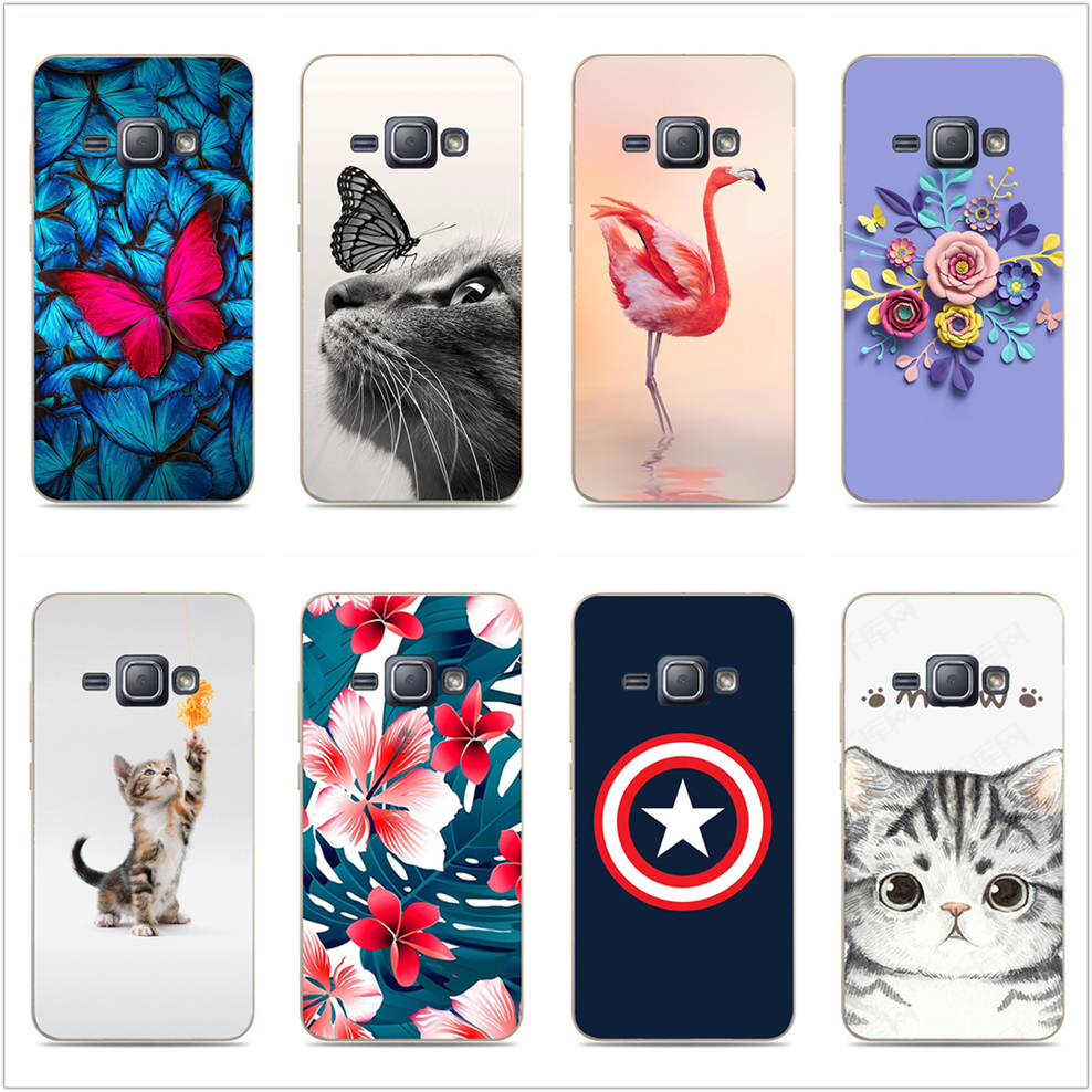 acd5d0230f8 For Coque Samsung Galaxy J1 2016 Case Soft TPU Silicone Case For Funda  Samsung J1