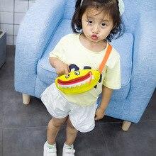 Korean-Style Children Little Monster Mini Running Bag nan nv Baby Purse the IMP Dual-Use Chest Wild Crossbody