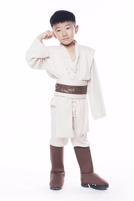 2016 Halloween Party Costume Star Wars The Force Awakens Jedi Warrior Cosplay Fancy Dress