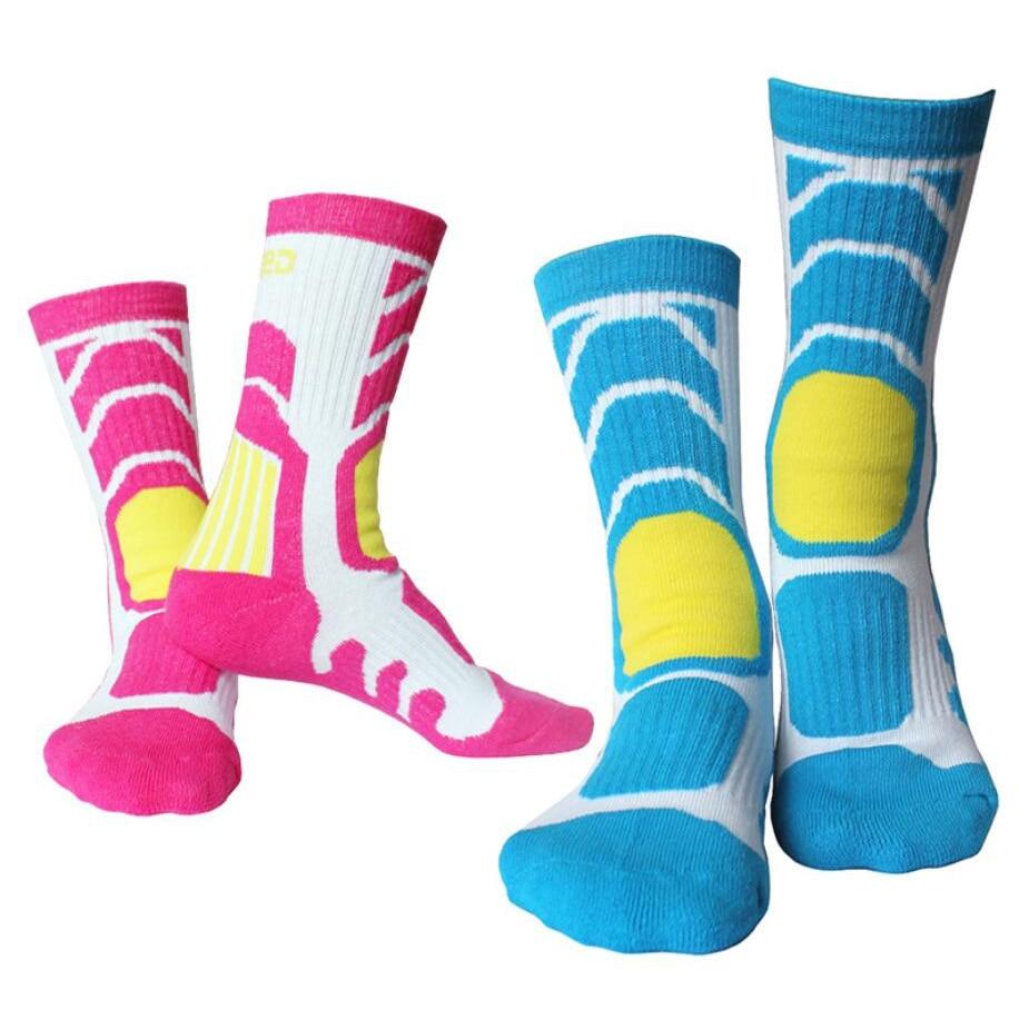 1Pair Kids Children Women Winter Sport Socks Breathable Wicking Cycling Skating Socks
