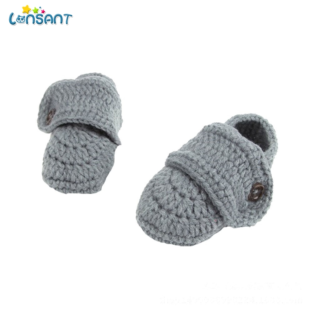 365026bf6 LONSANT Cute 2018 Crib Crochet Casual Baby Handmade Knit Woolen Sock ...
