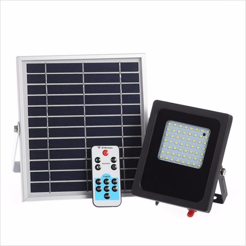 Remote Control Dimming 56 LED Lamp Solar Light Outdoor Garden Solar lamp Garden Wall Lights Waterproof Lamp Solar Street Light newest style led solar wall light solar lamp outdoor solar garden decorative lamp