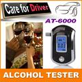 Luxury best gift Prefessional Police Digital Breath Alcohol Testers Breathalyzers Freeshipping Dropshipping