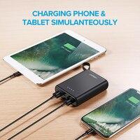 Ugreen Mini Power Bank 10000mAh Ultra Slim PoverBank for Samsung S9 S8 Dual USB Powerbank External Battery Pack Portable Charger 1
