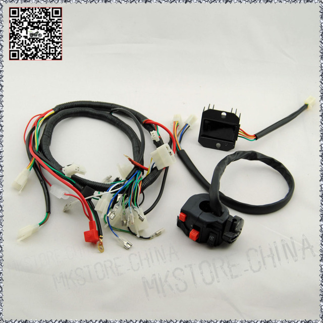 250cc rectifier switch quad wiring harness 200 250cc chinese rh aliexpress com