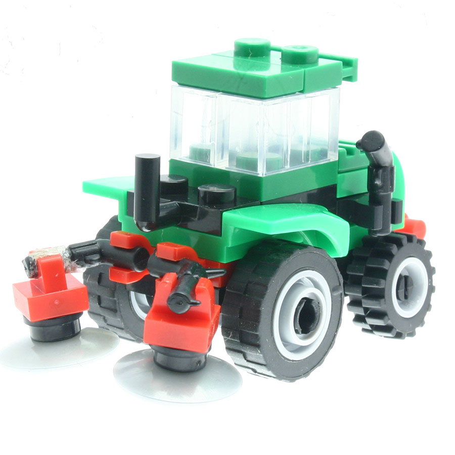 39Pcs/set Sweeper Tractor Model Figures Designer Toys for Children Stacking Blocks Compatible with All Brands DT0120