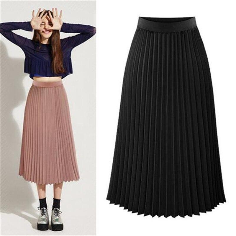 Online Get Cheap Long Pleated Skirts for Women -Aliexpress.com ...